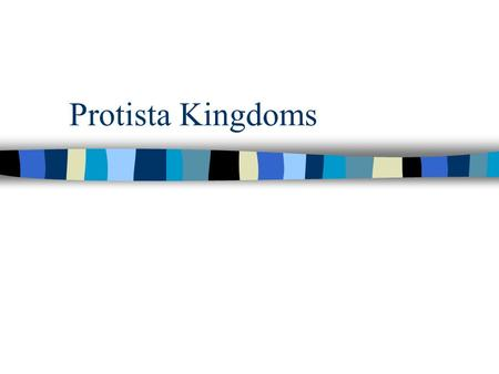 Protista Kingdoms. The Big Picture Kingdom Protista –Animal-like Protists –Plant-like Protists –Fungus-like Protists.