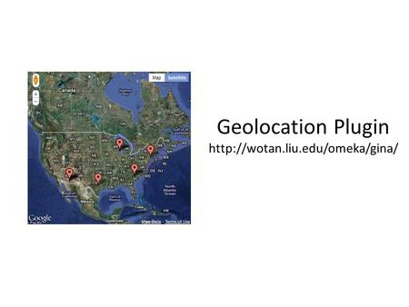 Geolocation Plugin