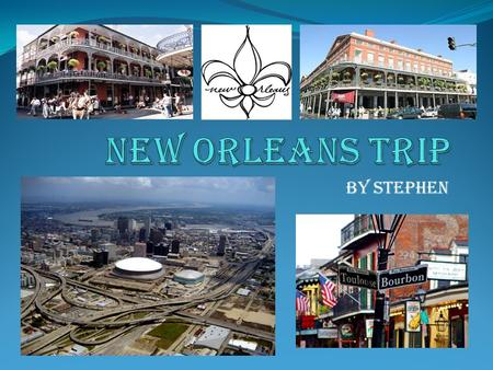 By Stephen. DAY UNO I am going on a vacation to New Orleans. 1,081 miles, 17 hours and 11 minutes. Its going to take me 4 tanks of gas to get there. I.