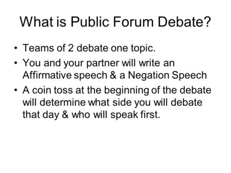 how to write a speech for a debate 1 introduction there is more to a debate speech than the mere delivery of arguments and rebuttals no doubt these two elements form the backbone of a debate speech.