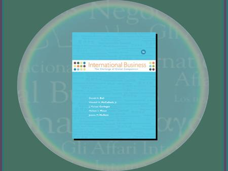 Financial Management and Accounting McGraw-Hill/Irwin International Business, 11/e Copyright © 2008 The McGraw-Hill Companies, Inc. All rights reserved.