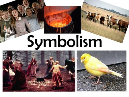 Symbolism. The Crucible Crucible: a ceramic or metal container in which metals or other substances may be melted or subjected to very high temperatures,
