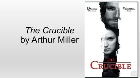 The Crucible by Arthur Miller. Puritans-A Quick Review Came to Massachusetts Bay Colony seeking freedom from religious persecution in Europe. Believed.