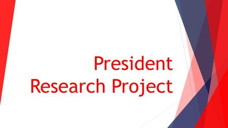 president research paper Dialogue on presidential challenges and leadership: papers of the 2007-2008  center fellows  case affords, warrants further research on vertical persuasion.
