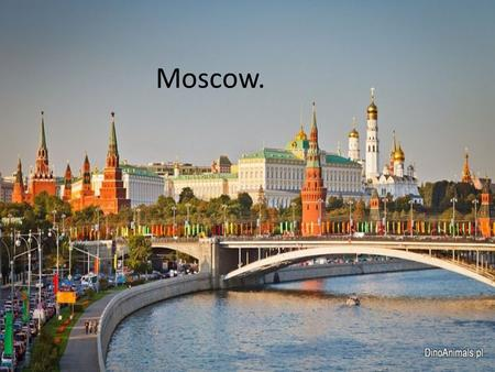 Moscow.. Moscow is the capital and the largest city of Russia with nearly 12 million residents within the city limits and nearly 17 million within the.