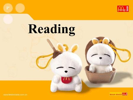 Reading. What do you often do in your free time?