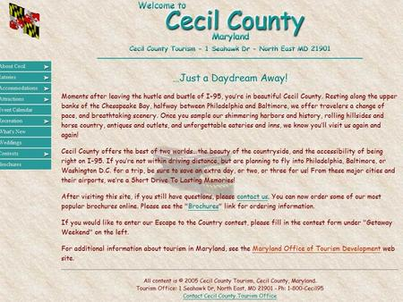 The Future of Cecil County? Sprawl throughout the county.