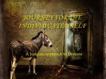 "A Jungian approach to Dreams.  One of the ""big three"" in the field of pschoanalysis  Freud's protégée  Freud's nightmare  Jung broke away from Freud."