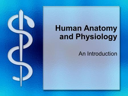Human Anatomy and Physiology An Introduction. What is the difference? Anatomy = The study of body structures Physiology studies their functions What are.