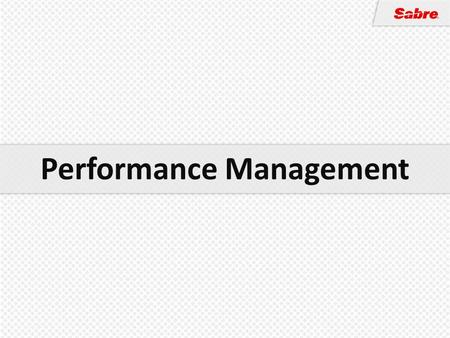 Performance Management. People are an organization's most important and costly asset Organizations must derive a return on their investment Every organization.