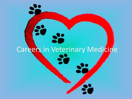 Careers in Veterinary Medicine. What do Veterinarians Do? Primary purpose is to serve society – guardians of animal welfare Dealing primarily with health.