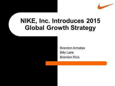 NIKE, Inc. Introduces 2015 Global Growth Strategy