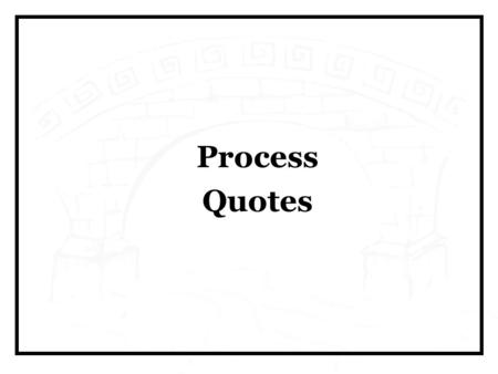 Process Quotes. If I asked my customers what he wanted, they would have told me a faster horse - Henry Ford.