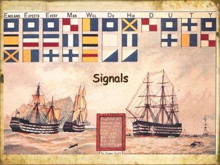 SignalsSignals. What is a Signal? A signal is a notification that some event has occurred. Usually a signal is sent to a process asynchronously and whatever.
