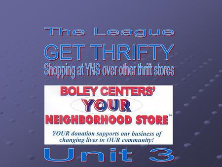 Boley Centers is the company that owns Your Neighborhood Store. For information about us, use the URL below: