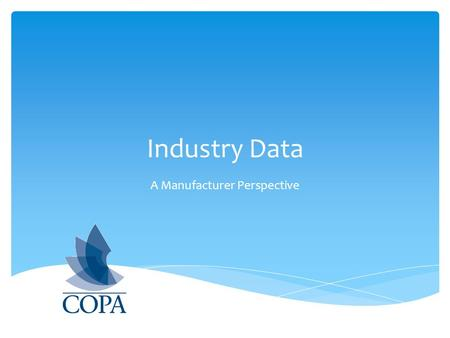 Industry Data A Manufacturer Perspective. Questions we can answer now… What is the dollar value of the Writing category in the Canadian Commercial Market?