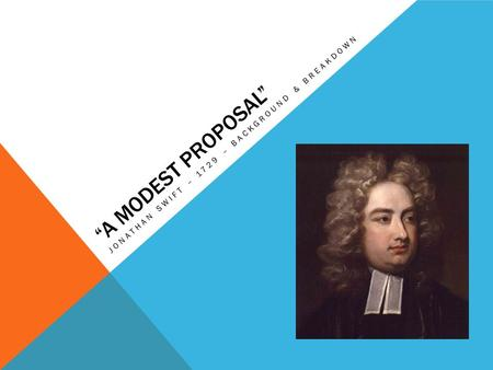 jonathon swift a modest proposal essay An analysis of swift's a modest proposal swift,  how effective is 'modest proposal' by jonathon swift  sign up to view the whole essay and download the pdf for anytime.
