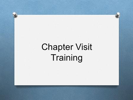 Chapter Visit Training. Curriculum Format: Lesson Information O Area O General area O Ex. FFA, Leadership, Communication O Unit O Overall standard the.