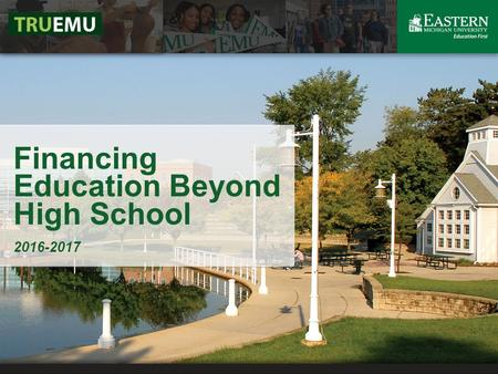 Financing Education Beyond High School 2016-2017.