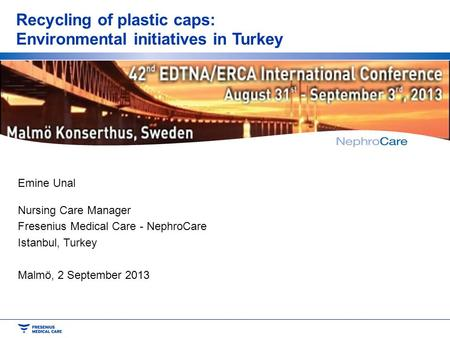 Recycling of plastic caps: Environmental initiatives in Turkey