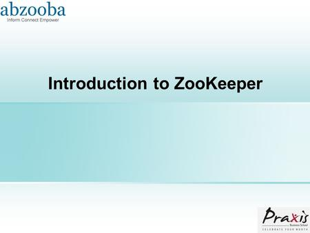 Introduction to ZooKeeper. Agenda  What is ZooKeeper (ZK)  What ZK can do  How ZK works  ZK interface  What ZK ensures.