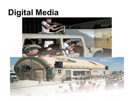 Digital Media. INTERACTIVE MEDIA: WEB 2.0 AND YOU Internet Basics The Internet Audience Internet Marketing The Internet as a Marcom Medium The Roles of.