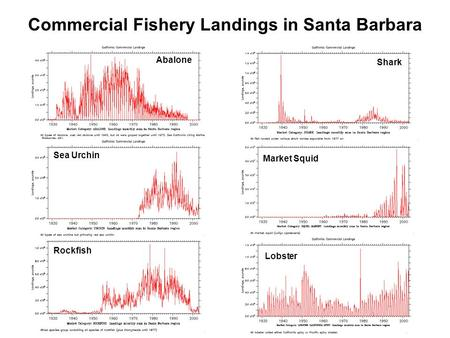 Commercial Fishery Landings in Santa Barbara