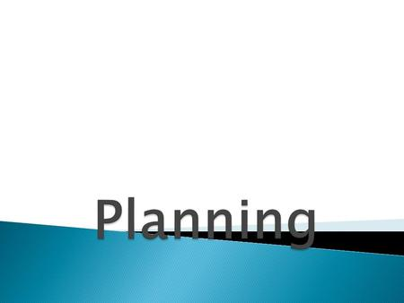 Planning is deciding in advance what to do, how to do, when to do and by whom is to be done. 1… A plan is a trap laid to capture the future. 2… Planning.