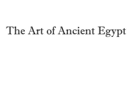 The Art of Ancient Egypt. Some Facts About Egyptian Beliefs Egypt's rulers were divine kings, sons of the sun god, Ra (or Re). These sons (the rulers)