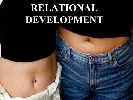 RELATIONAL DEVELOPMENT. What is a Relationship Interaction between two people over time Verbal and nonverbal exchanges.