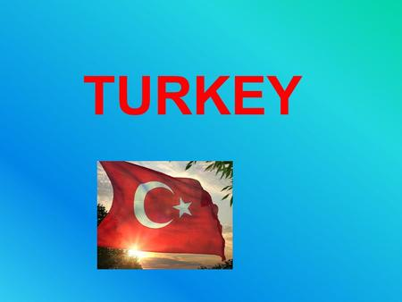 TURKEY. Capital : Ankara Population : 75 million people Language : Turkish Religion : Muslim GENERAL KNOWLEDGE.