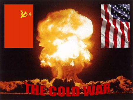 What was the impact of the Cold War on Americans at home? Impact of the Cold War at home The fear of communism and the threat of nuclear war affected.