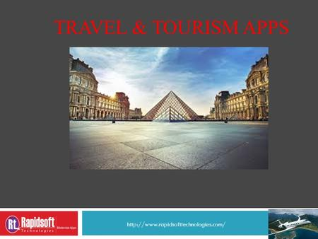 TRAVEL & TOURISM APPS