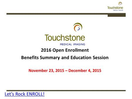 Benefits Summary and Education Session