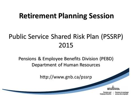Retirement Planning Session