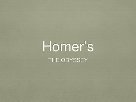 troy cheney odyssey books 9 12 questions Get an answer for 'in book 9, 10 , 11 and 12 of the odyssey, what three things did odysseus' men do that led to their destruction' and find homework help for other the odyssey questions.