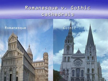 romanesque and gothic architecture essay Gothic and romanesque art of the middle ages essay writing service, custom gothic and romanesque art of the middle ages papers, term papers, free gothic and romanesque art of the middle ages samples, research papers, help.