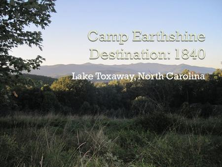 Lake Toxaway, North Carolina.  The camp is located in Lake Toxaway, NC.  It is a small town in western Transylvania county  267 mile journey.