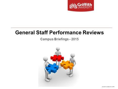 General Staff Performance Reviews Campus Briefings - 2015 October/November 2015 - OHRM.