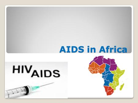 AIDS in Africa By Reed Mitchell. Where? The biggest source is in Southern Africa Down in the southernmost areas the prevalence gets to be above 5% That.