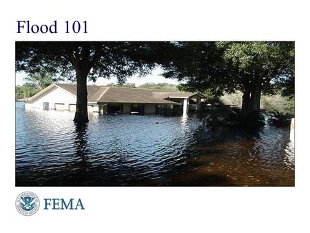 Presenter's Name June 17, 2003 Flood 101. Presenter's Name June 17, 2003 What is the National Flood Insurance Program?  A Federal program enabling property.