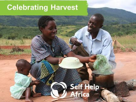 Celebrating Harvest. Almost 1 in 4 are undernourished in sub-Saharan Africa.