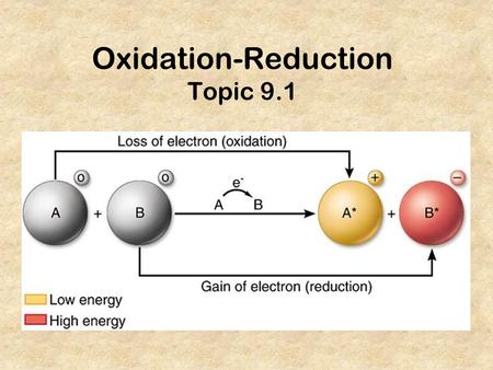 Oxidation-Reduction Topic 9.1. ...etc. 1+2+ 3-3+4+/-2-1-0.