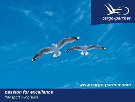 Air Cargo Sea Cargo ROAD-Xpress Intermodal Integrated Logistics Environmental cargo-partners.