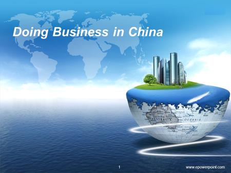 LOGO Doing Business in China www.epowerpoint.com1.