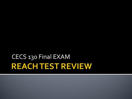 CECS 130 Final EXAM.  #include  Using a directive to include a header file  Stdio.h = standard input output header file.