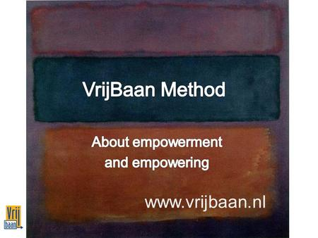 Www.vrijbaan.nl. Background 1 Large distance to the labor market Insufficient self-direction in (re) integration process Supporting system often falls.