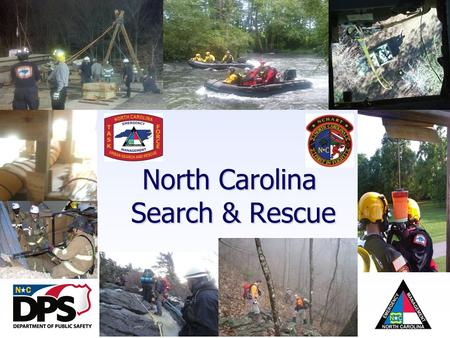 North Carolina Emergency Management North Carolina Search & Rescue.