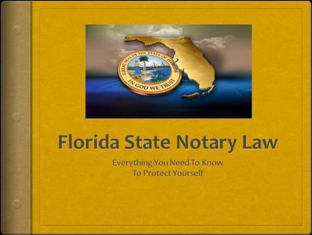 Introduction  Mandatory Education Effective July 2000, notary education was made mandatory for all new notary applicants. An approved class must be completed.