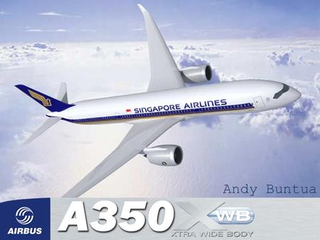 Andy Buntua. Specifications Model A350-800 A350-900 A350-1000 Length 199 ft. 1 in. 219 ft. 11 in. 242 ft. 10 in. Height 56 ft. 3 in. 56 ft. 2 in. 56 ft.
